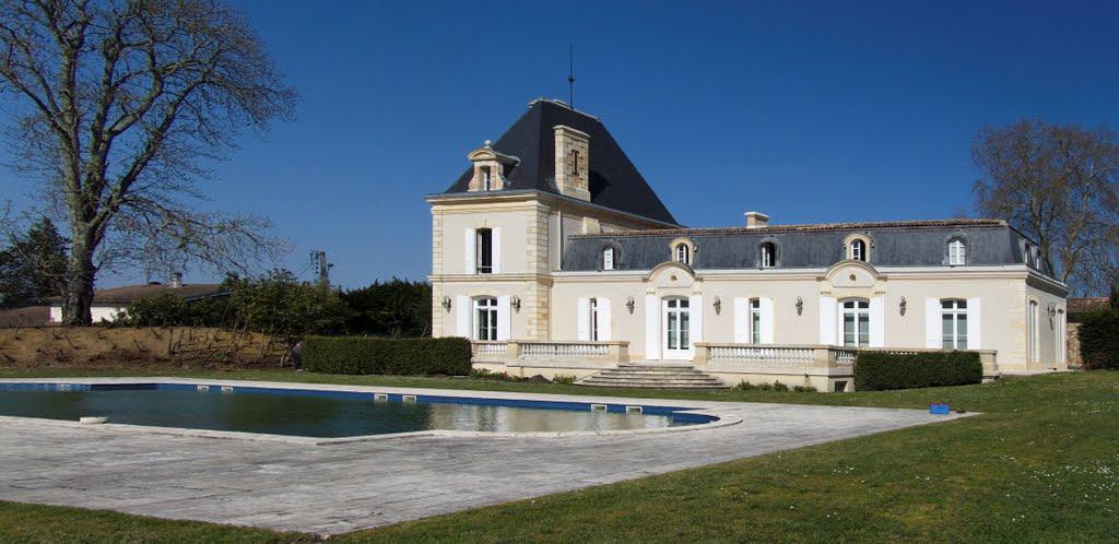 château Larrivet Haut-Brion blog