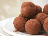 Truffes au chocolat et Deutz Brut Classique