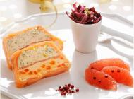 Terrine de saumon et Les Domaniers 2014 Côtes de Provence