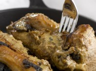 Filet mignon de porc aux morilles et Meursault